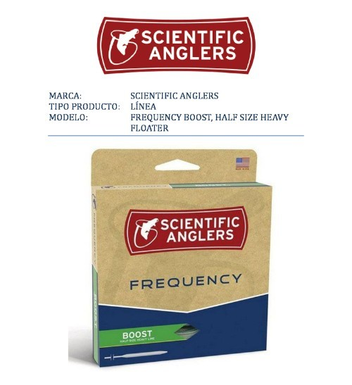 Scientific Anglers-línea FREQUENCY BOOST