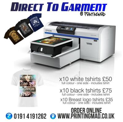 Direct to Garment has arrived at printingmad