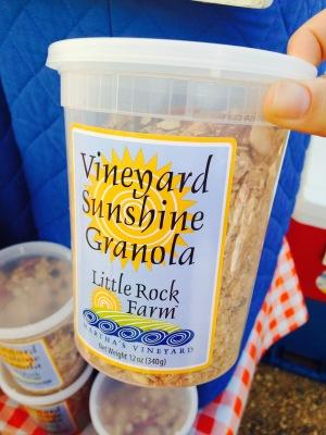 Vineyard Sunshine Granola