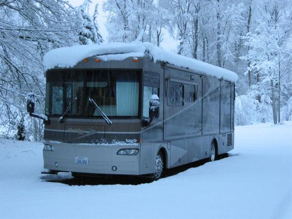 7 Great Advice for Winter RV Storage