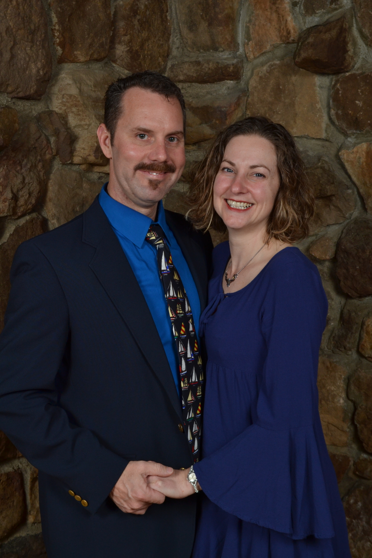 Glenn and Rebecca