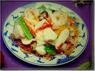 Seafood Cantonese Chow Mein