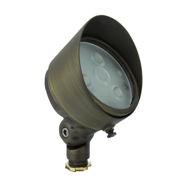 Volt Infiniti 40 G3 Brass LED Spotlight