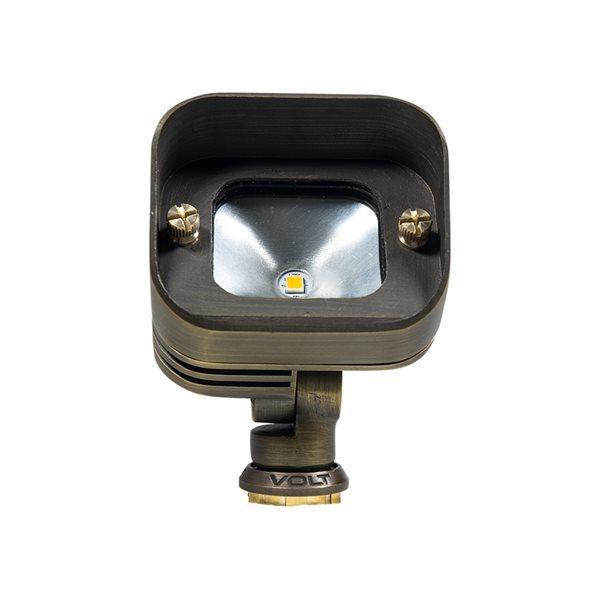 VOLT Intergrated LED Gentle Splash Brass Flood Light