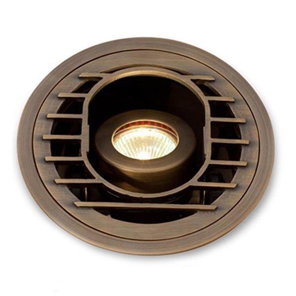 VOLT Articulator Cast Brass MR16 In-Ground Well Light