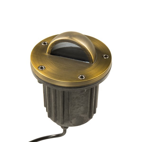 VOLT Brass Bully Beacon MR16 In-Ground Well Light