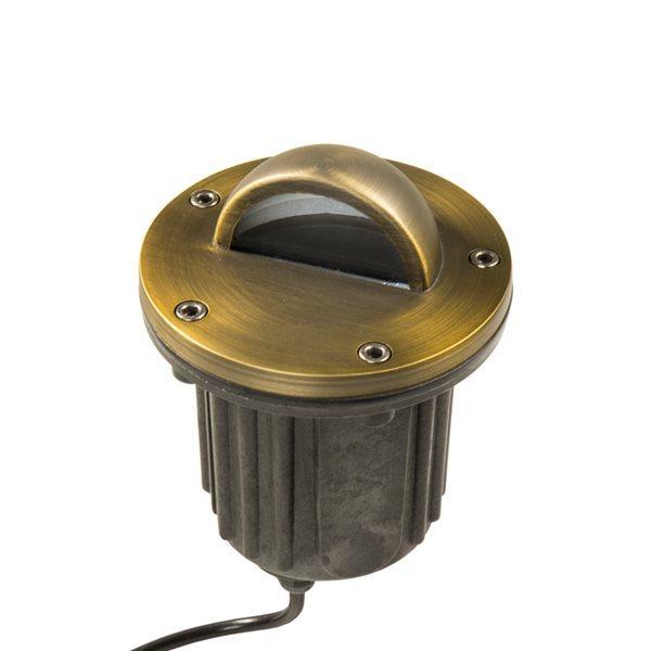 VOLT Brass Bully Beacon MR16 In-Ground Well Light