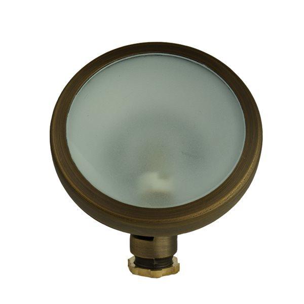 VOLT Cast Brass Round Wall Wash