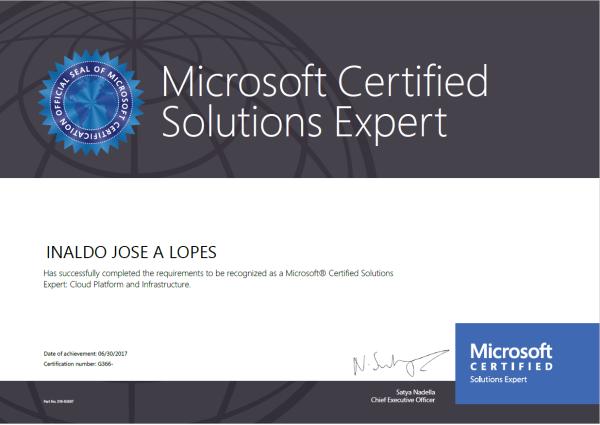 MCSE Solution Expert
