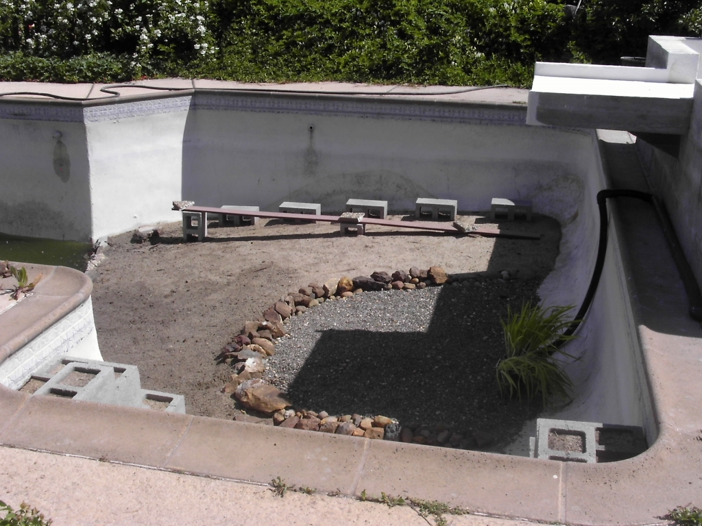 Pool to Pond -eco-infrastructure 2011