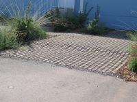 Aadvantage -permeable driveway