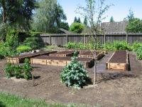 Ladwig -cedar vegetable garden boxes