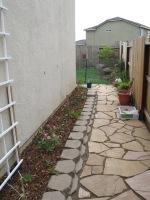 Scott -pathway into garden