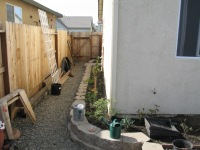 Scott -pathway with retaining block