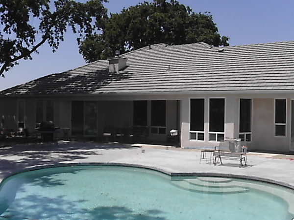Coots -pool-house view landscape before