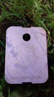 mulch shield lid -purple lid