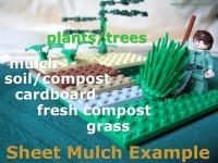 lego sheet mulch