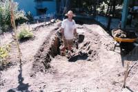 Ladwig -hand dug pond