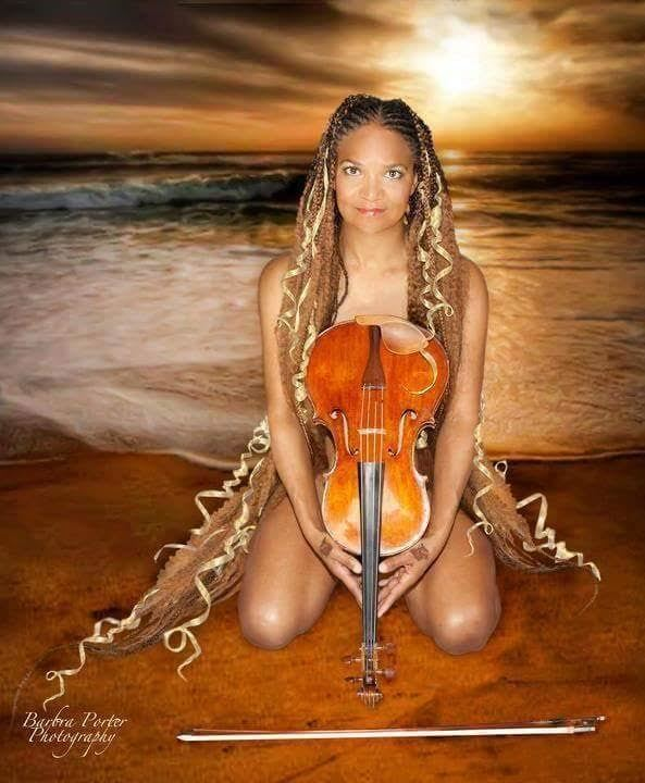Interview with Karen Elaine - Violist and Acro Yogini