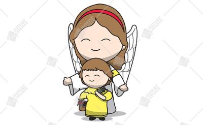 Anjo da guarda - Cód.: 1201