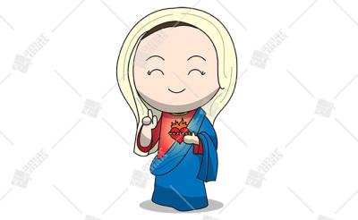 Imaculado Coração de Maria - Cód.: 1202