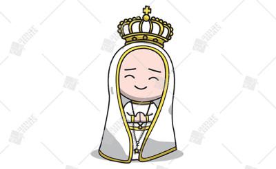 Nossa Senhora de Fátima - Cód.: 1204