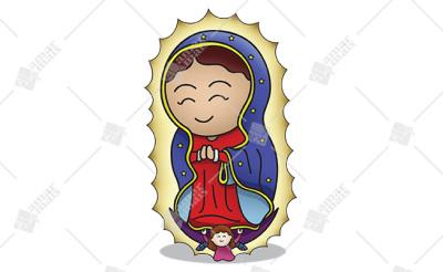 Nossa Senhora de Guadalupe - Cód.: 1219