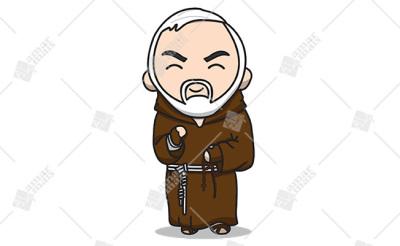 São Pio de Pietrelcina - Cód.: 1222