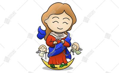 Nossa Senhora Desatadora dos Nós - Cód.: 1224