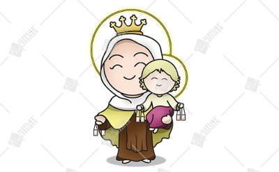 Nossa Senhora do Carmo - Cód.: 1226