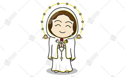Nossa Senhora Rosa Mística - Cód.: 1229