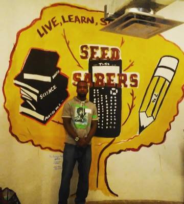 school mural in seed school of maryland