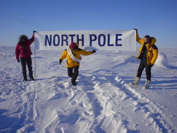 Travelers to the North Pole