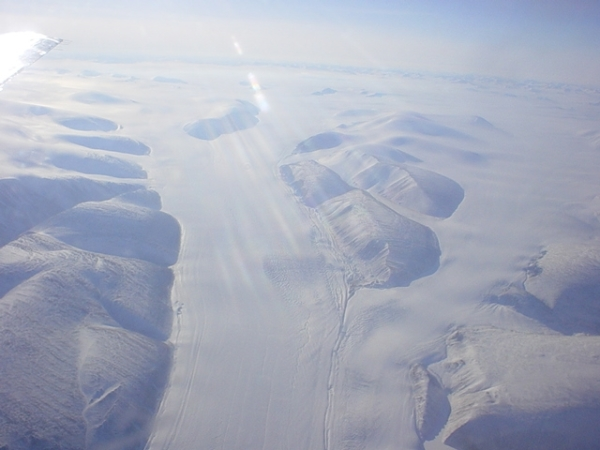 The ice of the North Pole