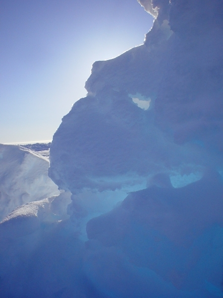 Ice formation at North Pole