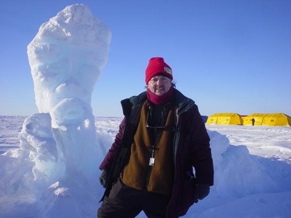 Bruce Rheins at North Pole