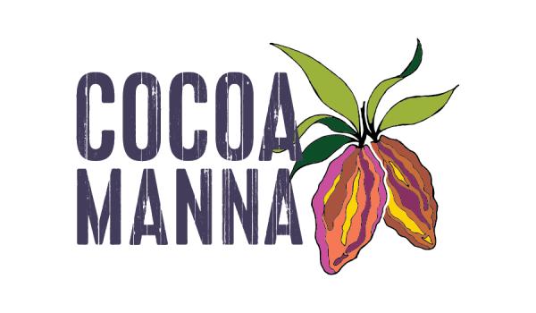 Logo design for Cocoa Manna bean to bar chocolate