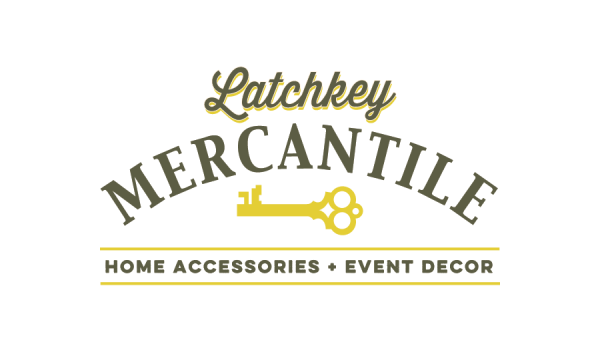 Logo design for Latchkey Mercantile