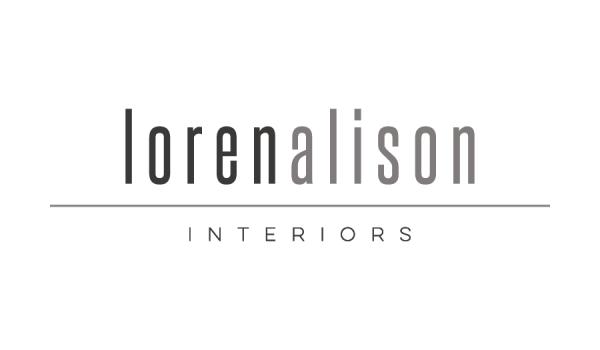 Logo design for Loren Alison Interiors
