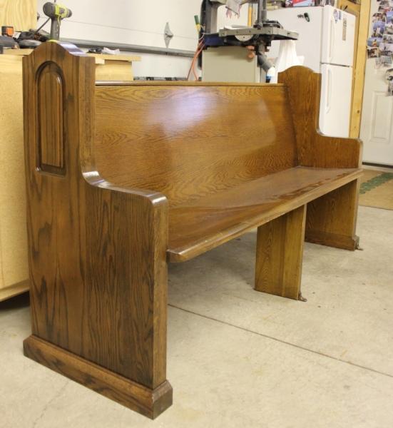 Church Pew Restoration