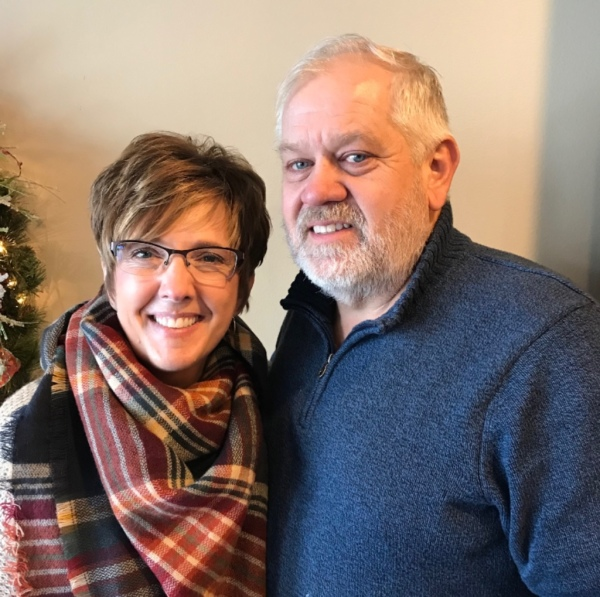 Ray Hansen and fiance' Jill Juergensen