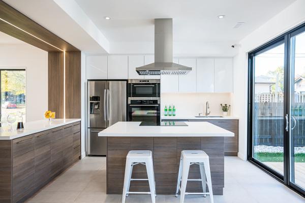 Modern High Gloss Kitchen