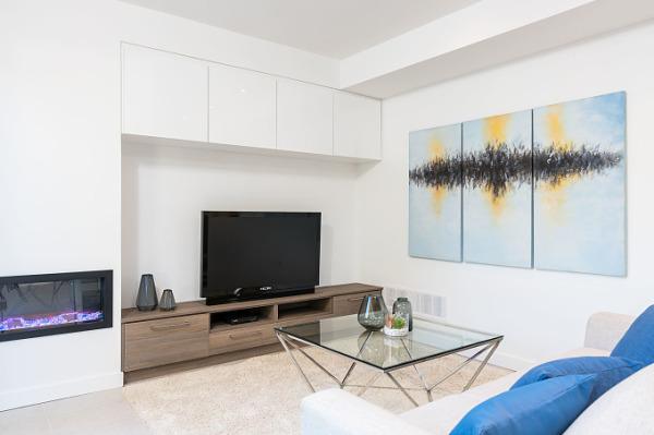 Modern life living room