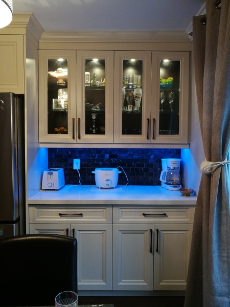 Glass Showcase dinning room