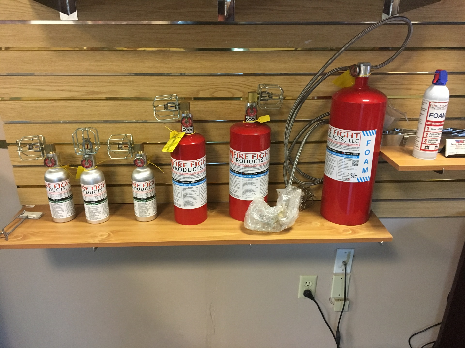 Fire Suppression Upgrades
