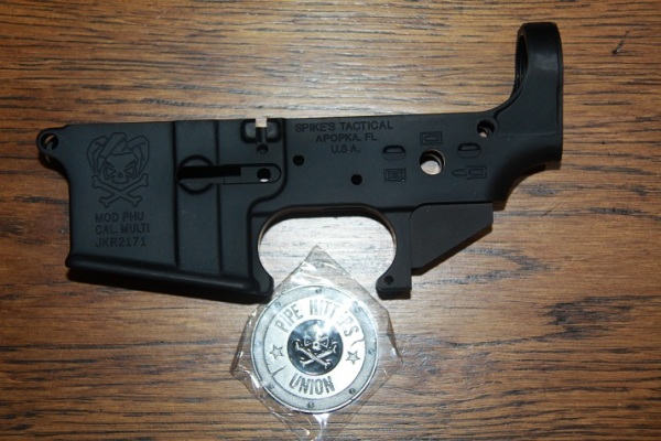 Spikes Tactical PHU Stripped Lower