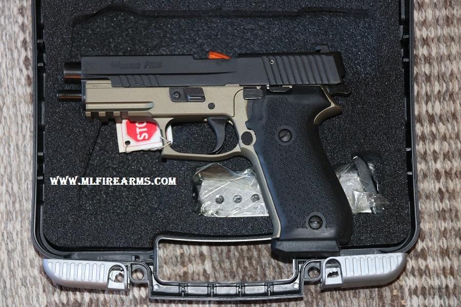 Sig P220 Desert Black