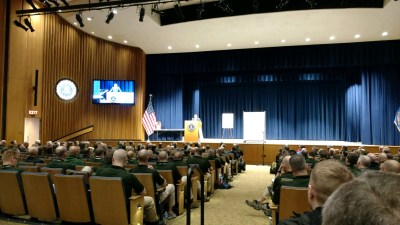 Building Shooters April 11th Speech at the FBI Academy in Quantico, Virginia