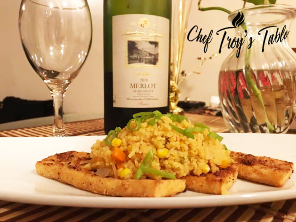 Tofu and Couscous