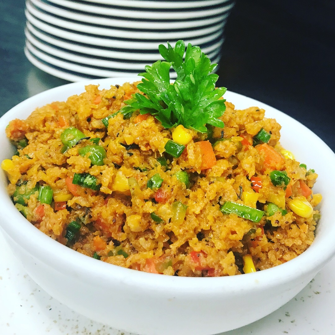 Ital Cauliflower fried rice